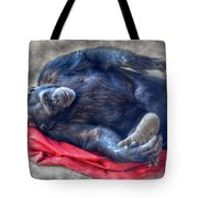 Dreaming Of Bananas Chimpanzee Tote Bag