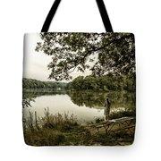 Dreaming Of Fishing At Argyle Lake Tote Bag