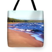 Dreaming Of Lake Superior Tote Bag