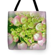 Dreaming Of Pink Hydrangeas Tote Bag