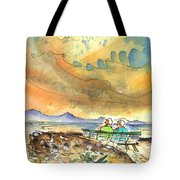 Dreaming Of Sailing In Lanzarote Tote Bag