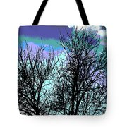 Dreaming Of Spring Through Icy Trees Tote Bag