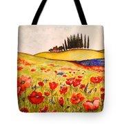 Dreaming Of Tuscany Tote Bag