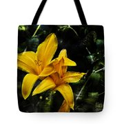 Dreams Of A Day Lily Tote Bag
