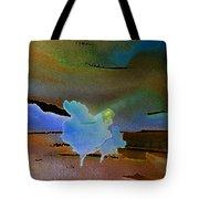 Dreams Of Blue Trees Tote Bag
