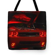 Dreams Of Red Seduction Tote Bag