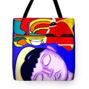 Dreams Of Santa Tote Bag