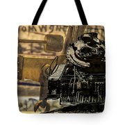 Dreams Of Trains Past Tote Bag