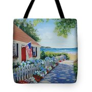 Dreamscape Tote Bag by Laura Lee Zanghetti