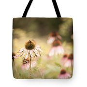 Dreamy Coneflowers Tote Bag