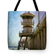 Dreamy Day At Huntington Beach Pier Tote Bag