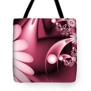 Dreamy Flower Garden Tote Bag
