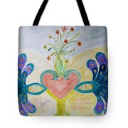 Dreamy Heart Tote Bag