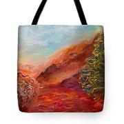 Dreamy Landscape Tote Bag