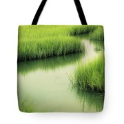 Dreamy Marshland Tote Bag