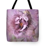Dreamy Purple Lavender Impressionistic Abstract Floral Art Photography Tote Bag