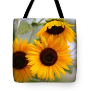 Dreamy Sunflower Day Tote Bag