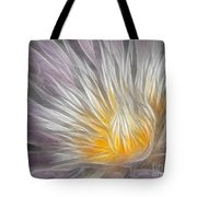 Dreamy Waterlily Tote Bag