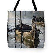 Dredging Sand Tote Bag