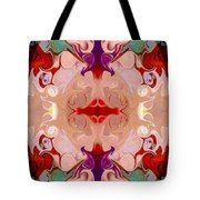 Drenched In Awareness Abstract Healing Artwork By Omaste Witkows Tote Bag