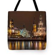 Dresden The Capital Of Saxony I Tote Bag