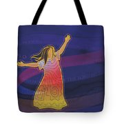 Dress Full Of Prayers Tote Bag