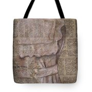 Dress Tote Bag by Kathy Weidner