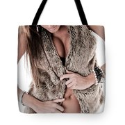 Dress Sexy Tote Bag