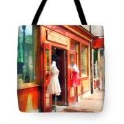 Dress Shop Fells Point Md Tote Bag