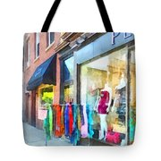 Hoboken Nj Dress Shop Tote Bag