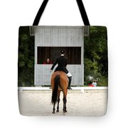 Dressage Salute Tote Bag