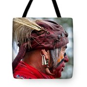 Dressed For Battle Tote Bag