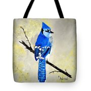 Dressed In Blue Tote Bag