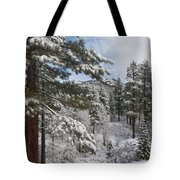 Distant Peak Tote Bag