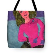 Dressed Up And Going Out Tote Bag