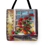 Dressing Room Window Tote Bag
