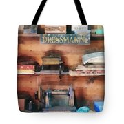 Dressmaking Supplies And Sewing Machine Tote Bag