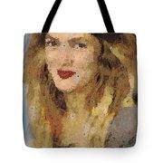 Drew Berrymore Tote Bag