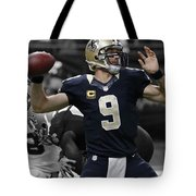 Drew Brees Tote Bag