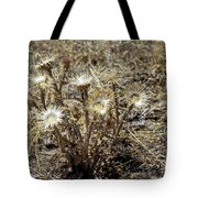 Dried Flowers Tote Bag