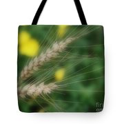 Dried Grass In Soft Focus Tote Bag