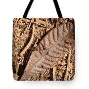 Dried Leaf Tote Bag