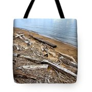 Drifted Woods Tote Bag