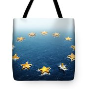 Drifting Europe Tote Bag