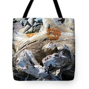 Driftwood Abstract Tote Bag