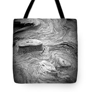 Driftwood Butte Bw 1 Tote Bag