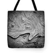 Driftwood Butte Bw 2 Tote Bag