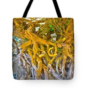 Queen Mariana's Driftwood Tote Bag