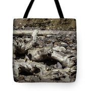 Driftwood Mt. Rainier  Tote Bag