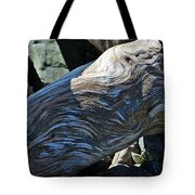 Driftwood Texture And Shadows Tote Bag